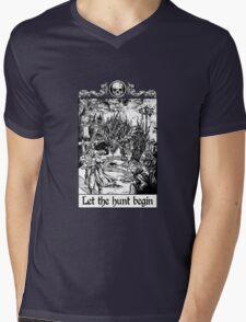 Bloodborne - Let the hunt begin Mens V-Neck T-Shirt