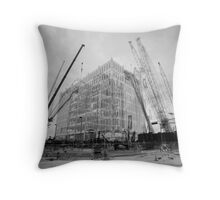 The Commerce Building Throw Pillow