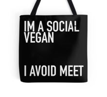 So many vegans! Tote Bag