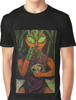 """Miss Morphing Mantis"" Graphic T-Shirt"