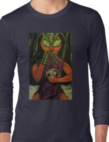 """Miss Morphing Mantis"" Long Sleeve T-Shirt"