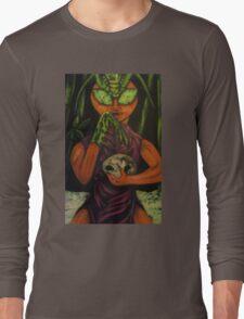 """Miss Morphing Mantis"" Long Sleeve T-Shirt"