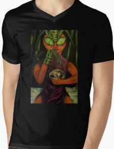 """""""Miss Morphing Mantis"""" Mens V-Neck T-Shirt"""