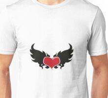 A flaming heart Unisex T-Shirt