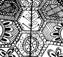 Turtle Zentangle Sticker