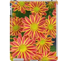 Orange and yellow chrysanthemums iPad Case/Skin