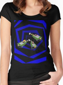 Day of the Tentacle - Time Machine  Women's Fitted Scoop T-Shirt