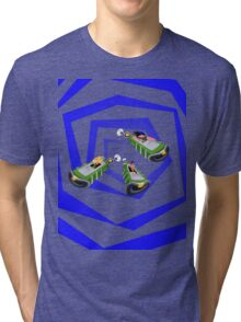 Day of the Tentacle - Time Machine  Tri-blend T-Shirt