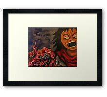 """Tetsuo's Trials"" Framed Print"