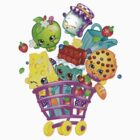 Shopkins basket by credbubble