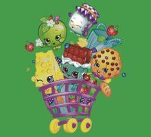 Shopkins basket Kids Tee