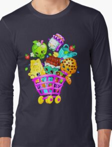 Shopkins basket Long Sleeve T-Shirt