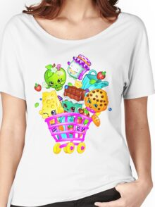 Shopkins basket Women's Relaxed Fit T-Shirt