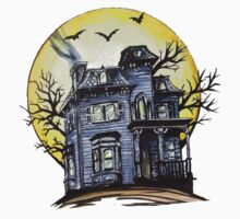 Scary House Kids Clothes