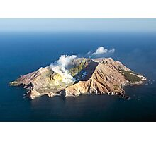 White Island Photographic Print
