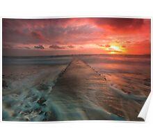 St Clement sundown by Gary Power Poster