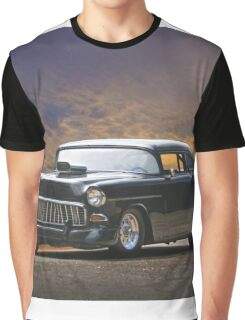 1955 Chevrolet Coupe 'One Sinister Chevy' II Graphic T-Shirt