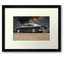 1955 Chevrolet Coupe 'One Sinister Chevy' I Framed Print
