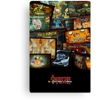 episode covers Canvas Print