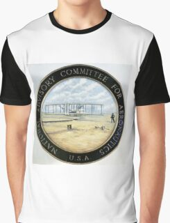 Official Seal of NACA, 1915-1958 Graphic T-Shirt