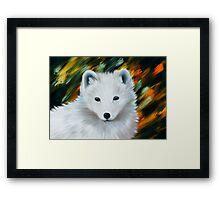 Polarfox Framed Print