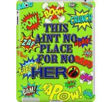 No Hero iPad Case/Skin
