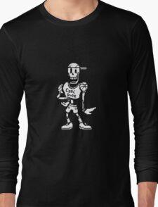 "Undertale: Papyrus ""Cool dude"" Long Sleeve T-Shirt"