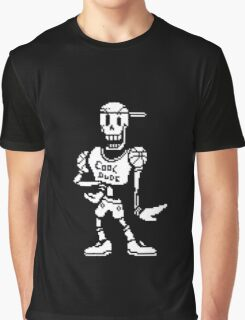 "Undertale: Papyrus ""Cool dude"" Graphic T-Shirt"