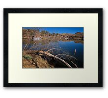Clear Cool Water Framed Print