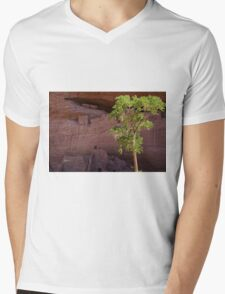 The Breeze Whispers Life Mens V-Neck T-Shirt