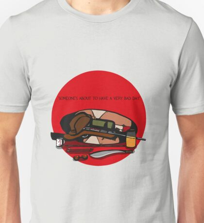 TF2 RED SNIPER gear QUOTE Unisex T-Shirt