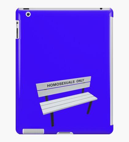 homosexuals only 2 iPad Case/Skin