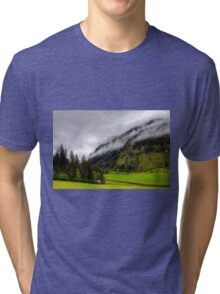 Spring meets winter in the Alps Tri-blend T-Shirt