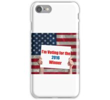 Vote 2016 iPhone Case/Skin