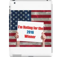 Vote 2016 iPad Case/Skin