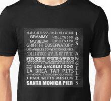 Los Angeles Famous Landmarks Unisex T-Shirt