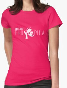 Hello Phil - Adele - Phia Womens Fitted T-Shirt