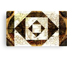 Old world maps Canvas Print