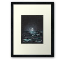 """Moonlight"" by Curtis Caton Framed Print"