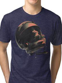 SPACE SKULL NOIR Tri-blend T-Shirt