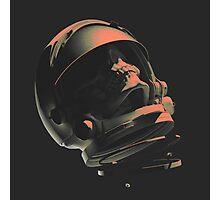 SPACE SKULL NOIR Photographic Print