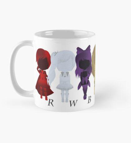 Team RWBY & JNPR Silhouettes Mug
