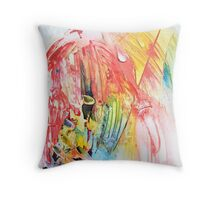 Her Profile  Throw Pillow