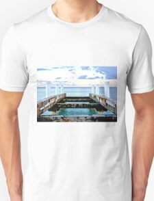 Sunset Pier at Grace Bay Unisex T-Shirt