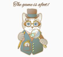 Steampunk Cat Detective Unisex T-Shirt