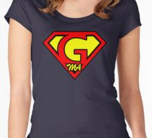 Super G Ma Women's Fitted Scoop T-Shirt