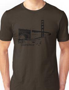 san francisco, golden gate bridge Unisex T-Shirt