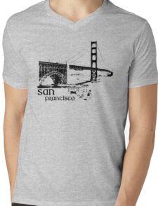 san francisco, golden gate bridge Mens V-Neck T-Shirt