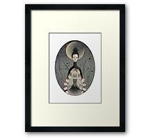 Divinity is Within Us  Framed Print