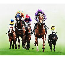 Turf Kings Photographic Print
